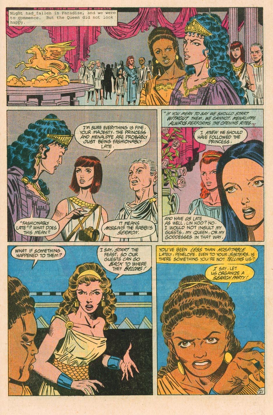 Read online Wonder Woman (1987) comic -  Issue #38 - 22