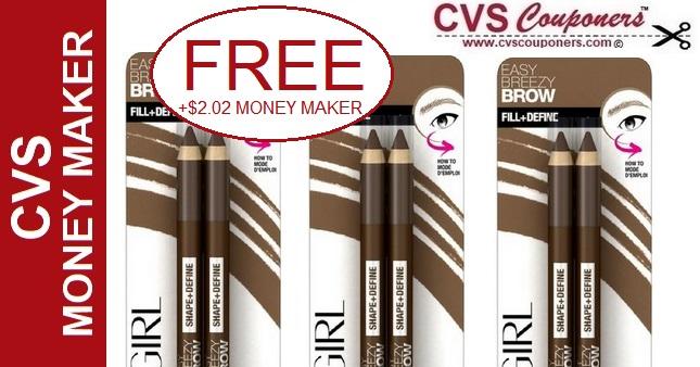 MONEY MAKER CoverGirl Eye Brow Pencils at CVS - 5/5-5/11
