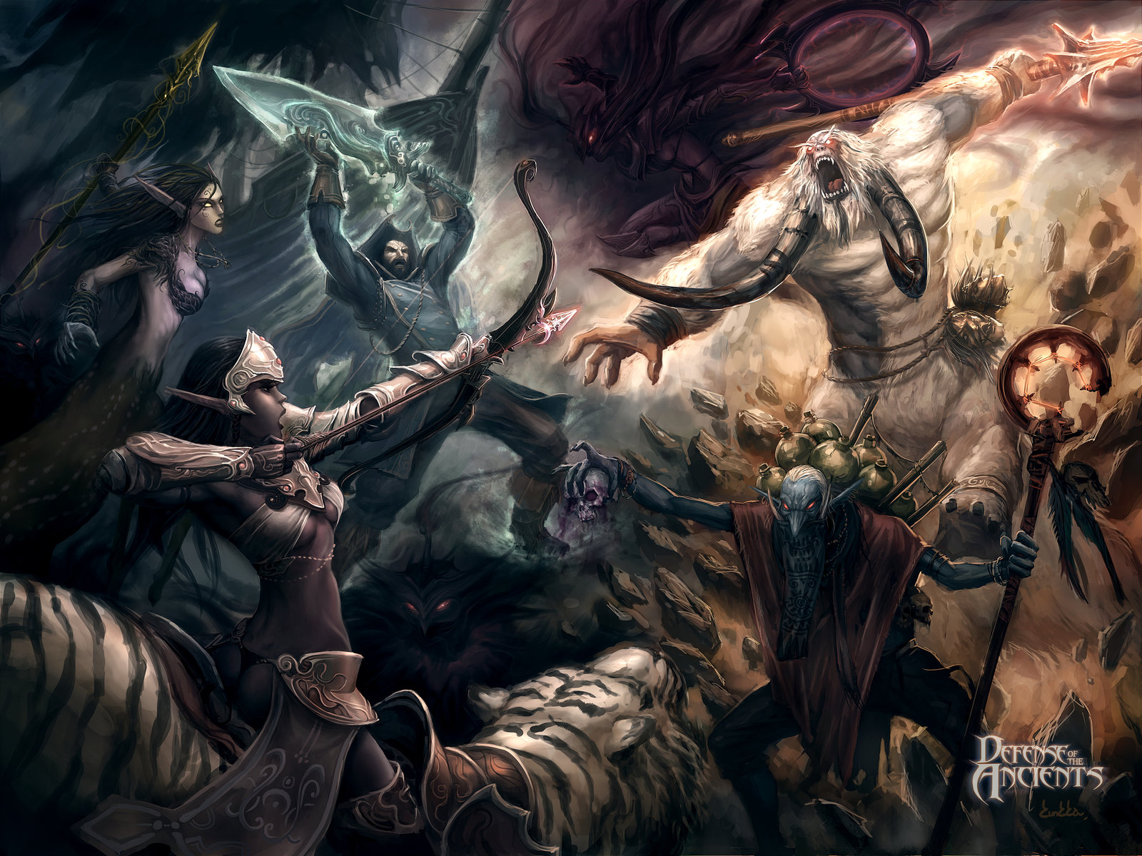 13 World Of Warcraft WOW DOTA 2 Wallpapers HD