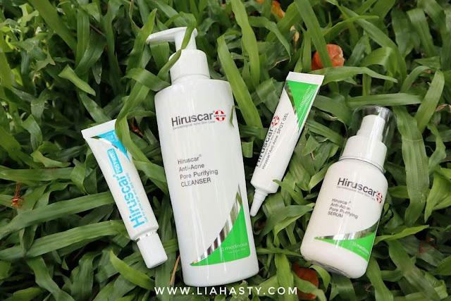 Atasi Jerawat dengan produk Hiruscar