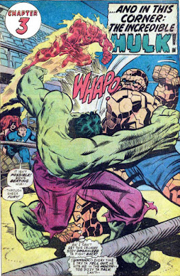 Giant-Size Super-Stars #1 Hulk-Thing Battle