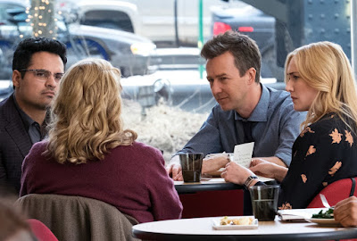 Image of Edward Norton, Kate Winslet and Michael Pena in Collateral Beauty (17)