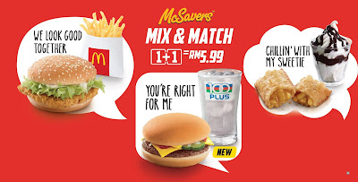 McDonald's McSavers Mix & Match RM5.99 Promo