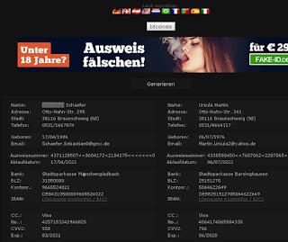 موقع فيزا وهمية وعضويات وهمية