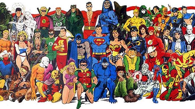Todos Los Superheroes De Comics Agosto 2014
