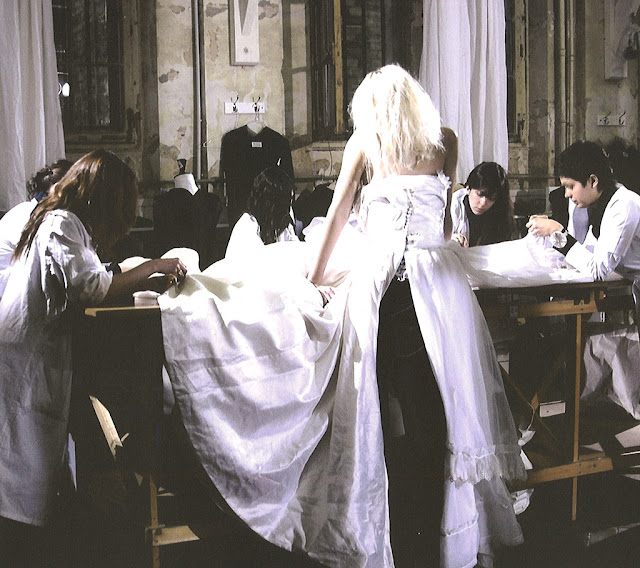 Maison Martin Margiela - A/W 2005 - Artisanal Wedding dress