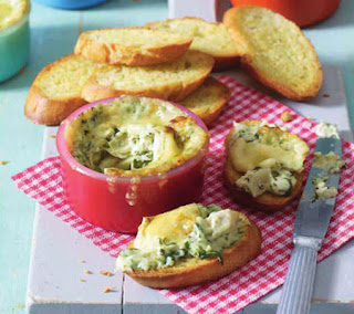 warm artichoke and spinach dip recipe