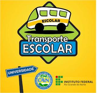 Inscrições para o transporte de universitários