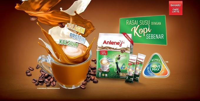 Cuba Untuk Claim Sample Susu Anlene Cafe Latte
