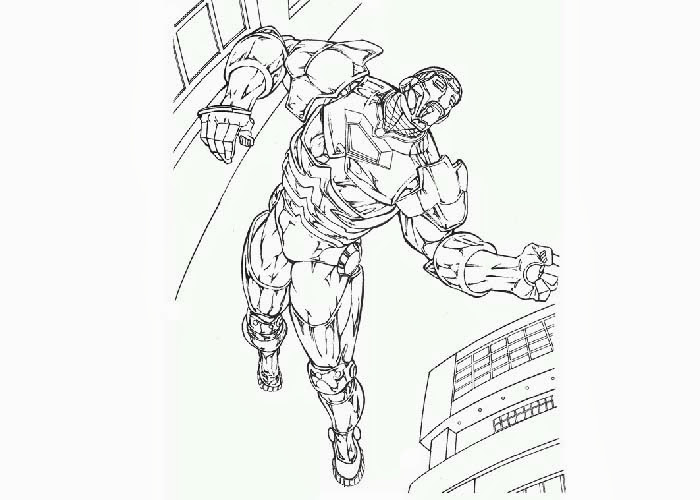 X Men Coloring Pages Sketch Coloring Page