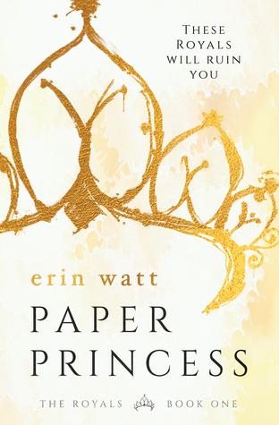 Reseña: Paper Princess (The Royals #1) - Erin Watt