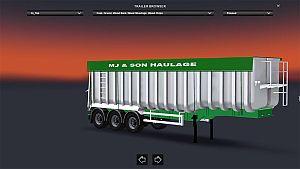 Grain Tipper standalone trailer