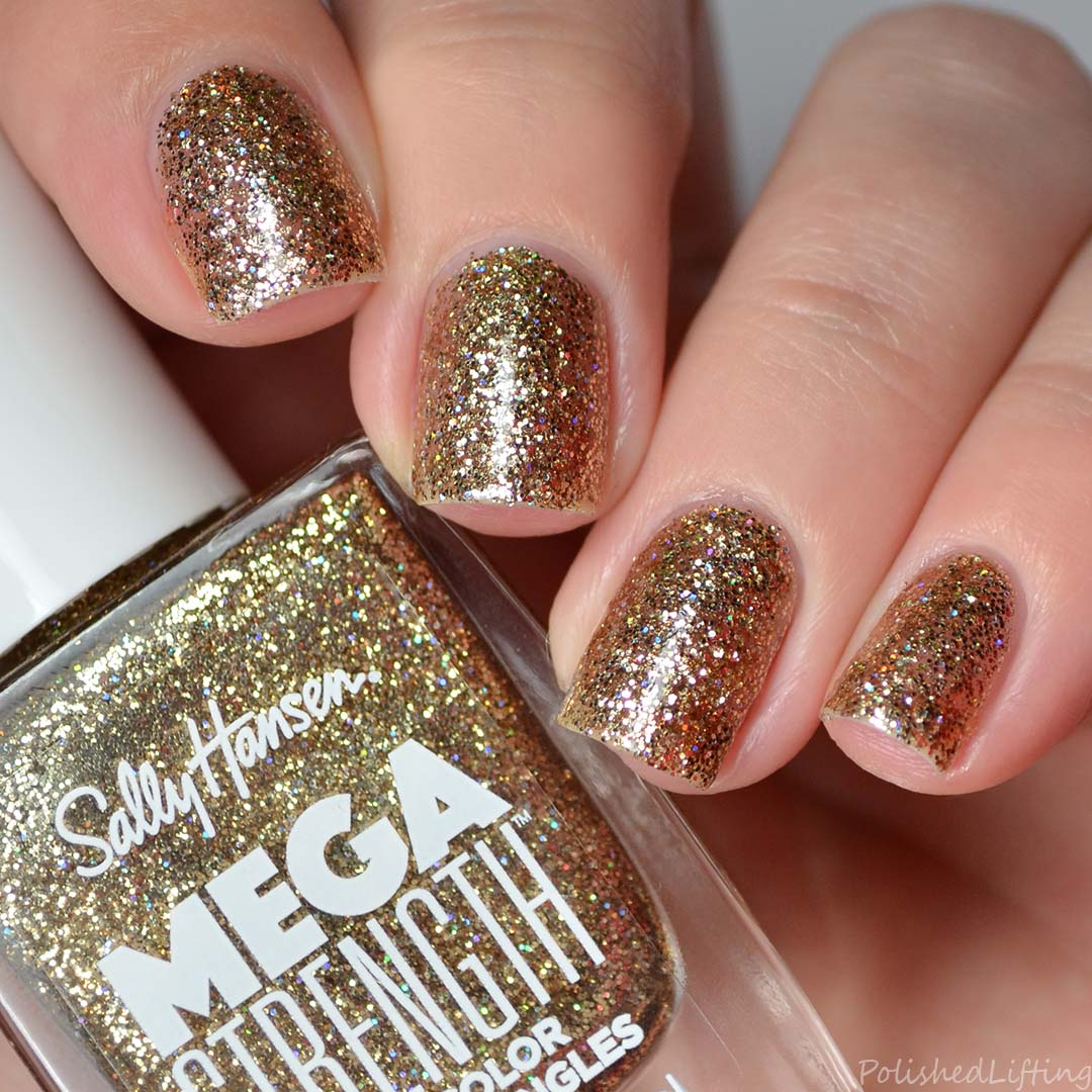 Sally Hansen Mega Strength Swatches Amp Review Polished Lifting