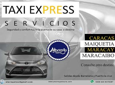 IMAGEN Taxi Express desde Barcelona y Puerto la cruz