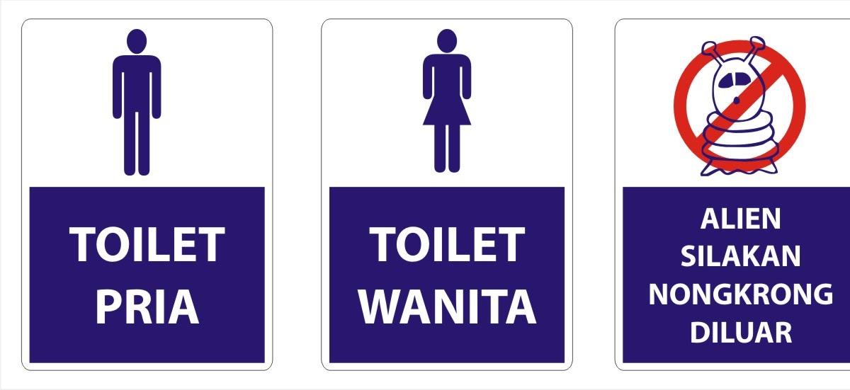 Innovator Rambu Toilet
