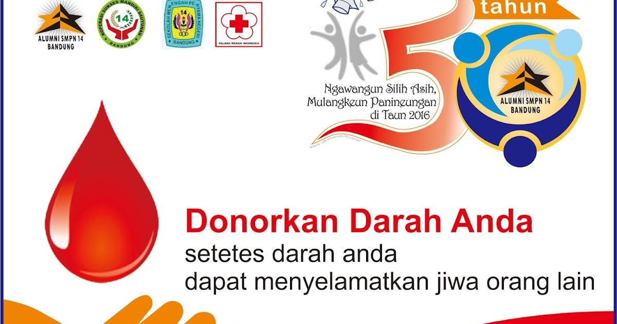 ika smpn 14 bandung  donor darah alumni smpn 14 bandung