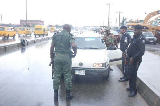 soldier arrested oshodi lagos