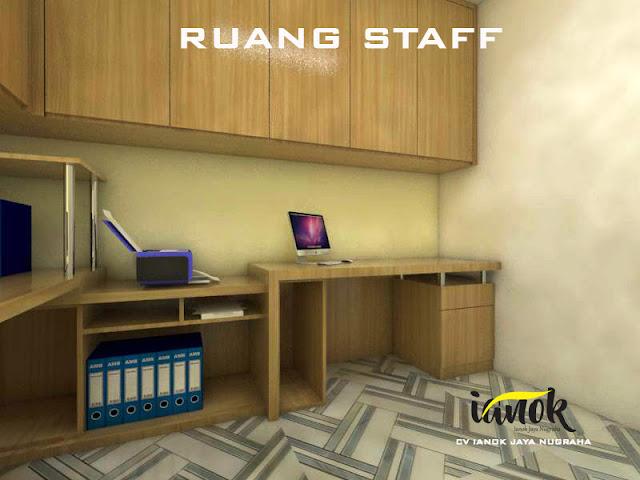 Desain Ruang Meja staff kantor Surabaya Sidoarjo