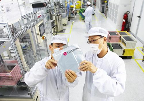 Tinuku LG Chem, Samsung SDI and SK Innovation in battery war