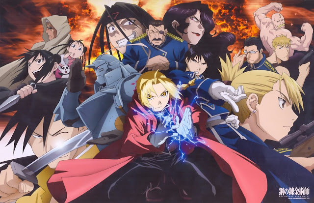 Download OST Opening Ending Anime Fullmetal Alchemist: Brotherhood Full Version
