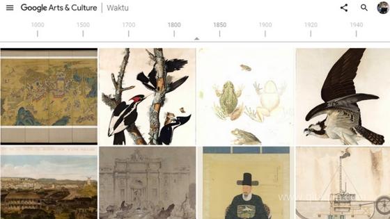 Google art culture jelajahi kisah dan koleksi dari seluruh dunia