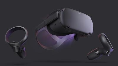 Prima vera console gioco VR: Oculus 'Quest