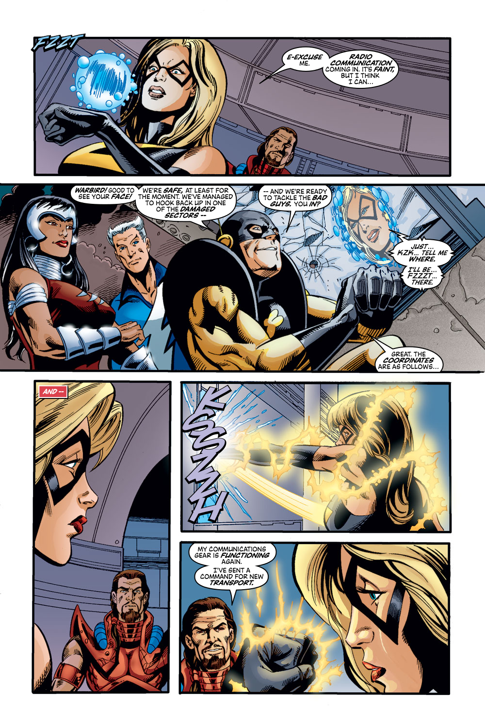 Read online Avengers (1998) comic -  Issue #47 - 21