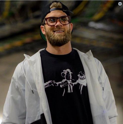 Bryce Harper's Phanatic Gritty Hoodie, Phanatic Gritty Hoodie T Shirts Sweatshirt, Bryce Harper's Phanatic Gritty T Shirts
