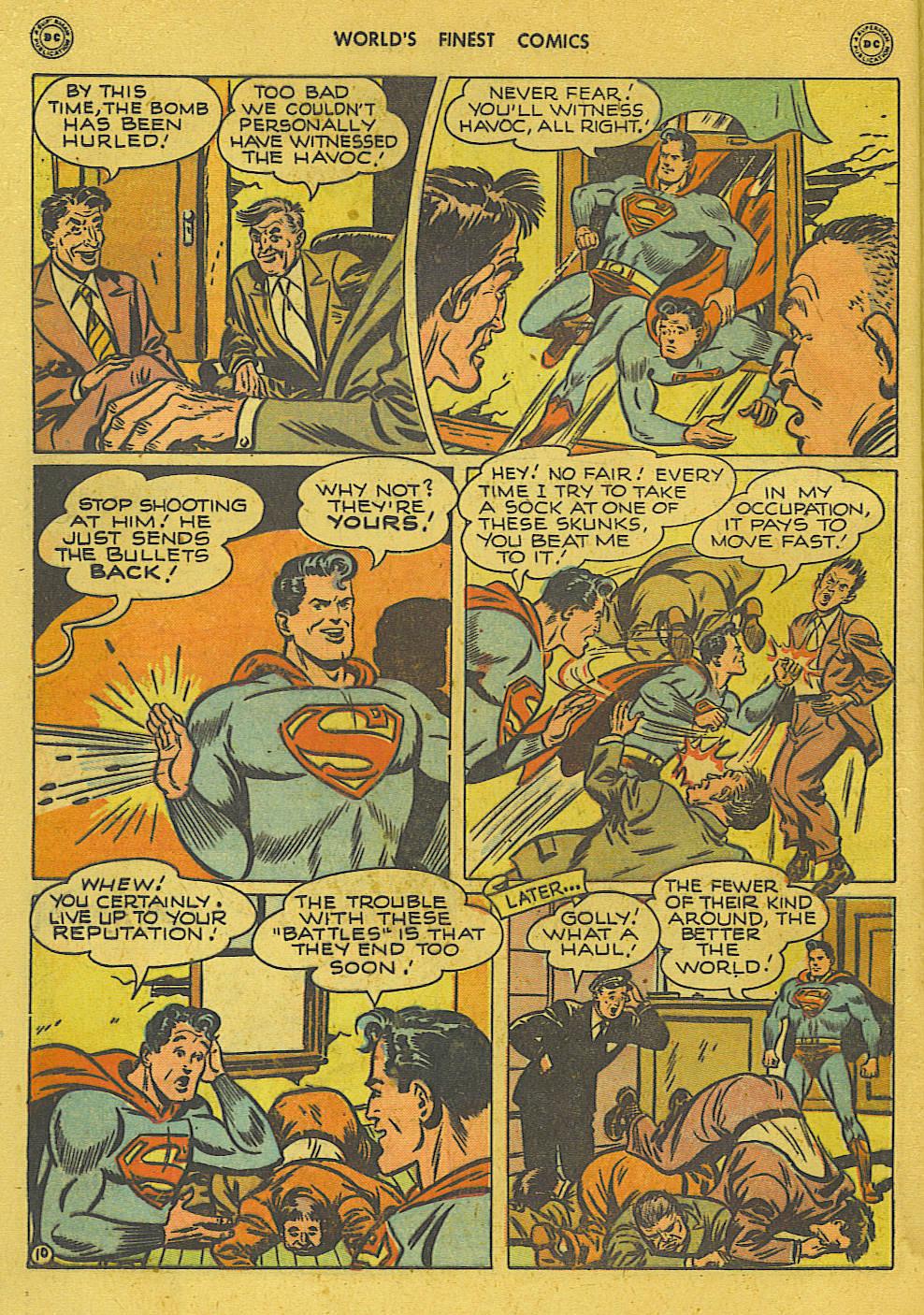 Read online World's Finest Comics comic -  Issue #34 - 12