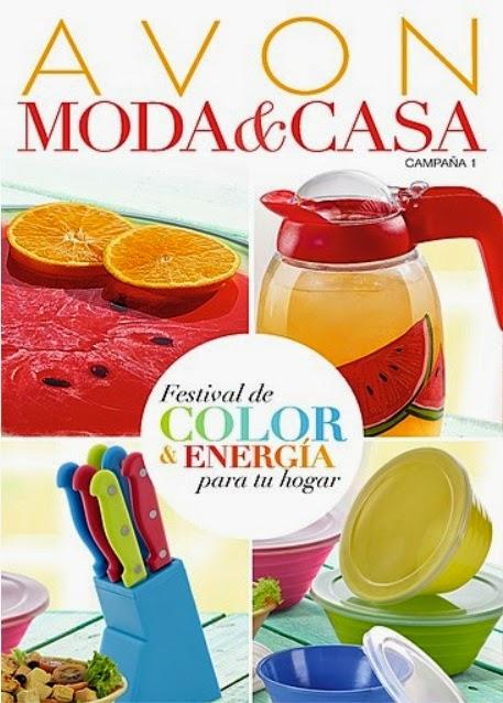 Catalogo avon moda casa campa a 01 enero 2015 virtual for Articulos para el hogar online