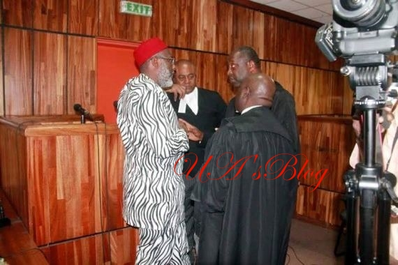 Metuh commences evidence-in-chief from outside witness box