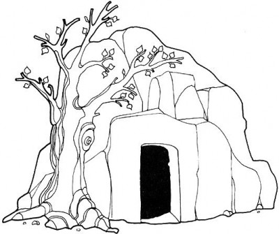 jesus empty tomb coloring pages free jesus christ christmas wallpapers and christmas