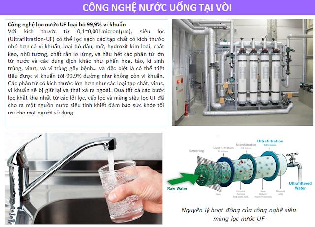Công nghệ nước uống tại vòi