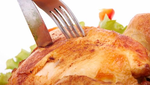 Pollo Rostizado con Chile Ancho