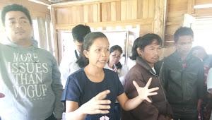 Didepan Wabup Samosir, Ibu Ini Lantang Tolak Keberadaan Kafe Rindu Alam