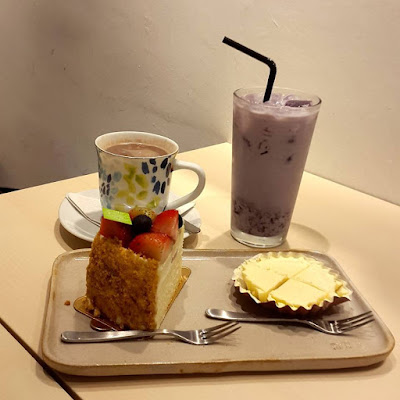 Cakes and Coffees at Flor Patisserie Duxton Hill