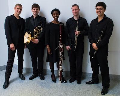 Cédric Tiberghien, Michael Kidd, Margaret Cookhorn, Emmet Byrne and Oliver Janes (Photo Paul Moss)