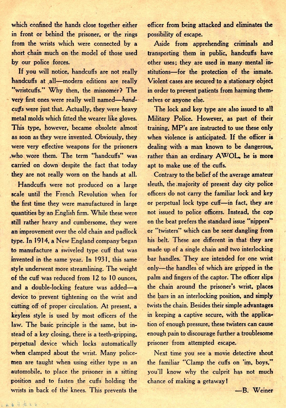 Read online Detective Comics (1937) comic -  Issue #203 - 32