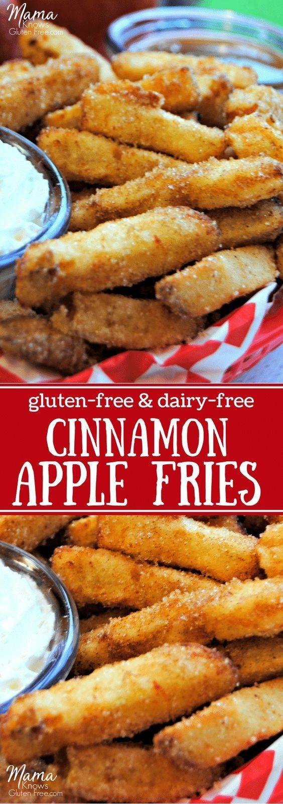 Gluten-Free Cinnamon Apple Fries