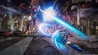 Marvel vs Capcom Infinite PS4 Wallpaper
