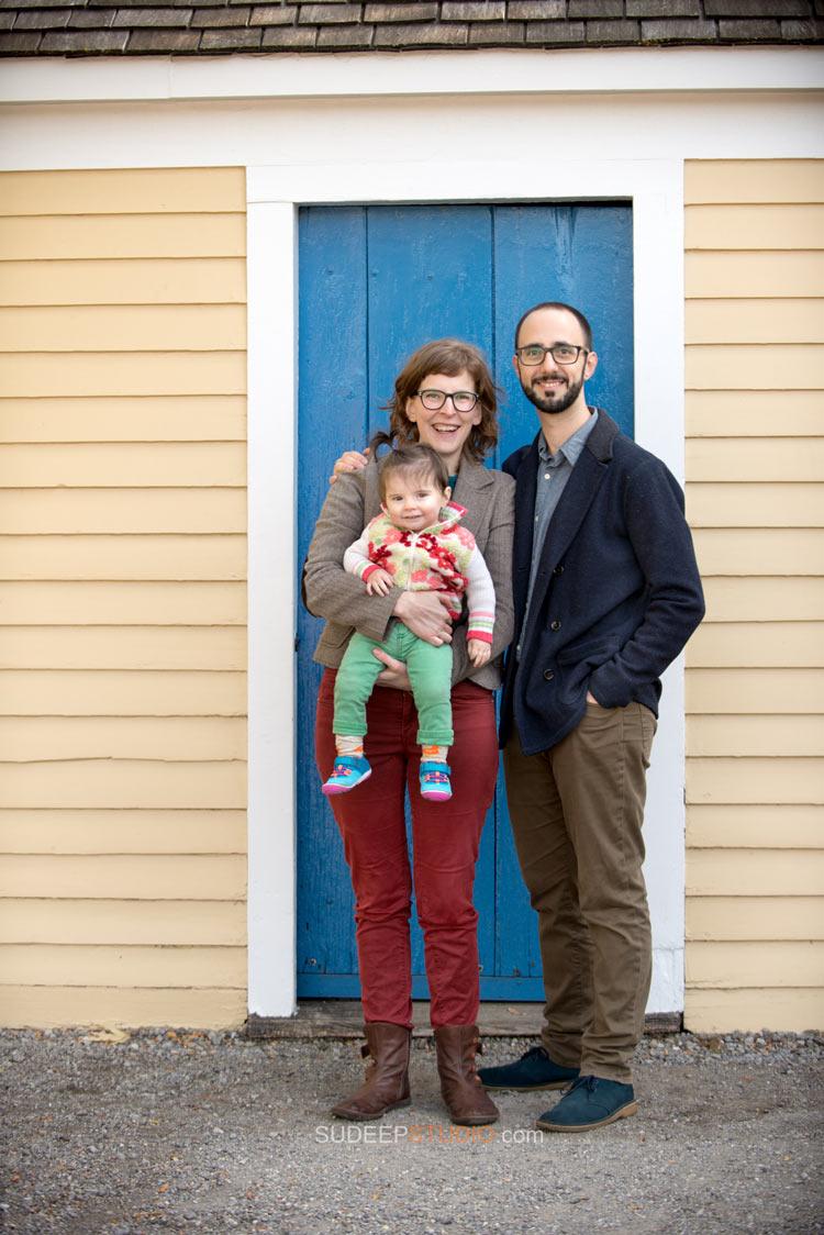 First year Baby Birthday Fall Family Portrait Photography - Ann Arbor Photographer Sudeep Studio.com