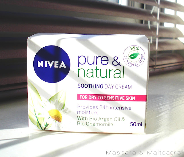 The Nivea Pure and Natural Soothing Day Cream