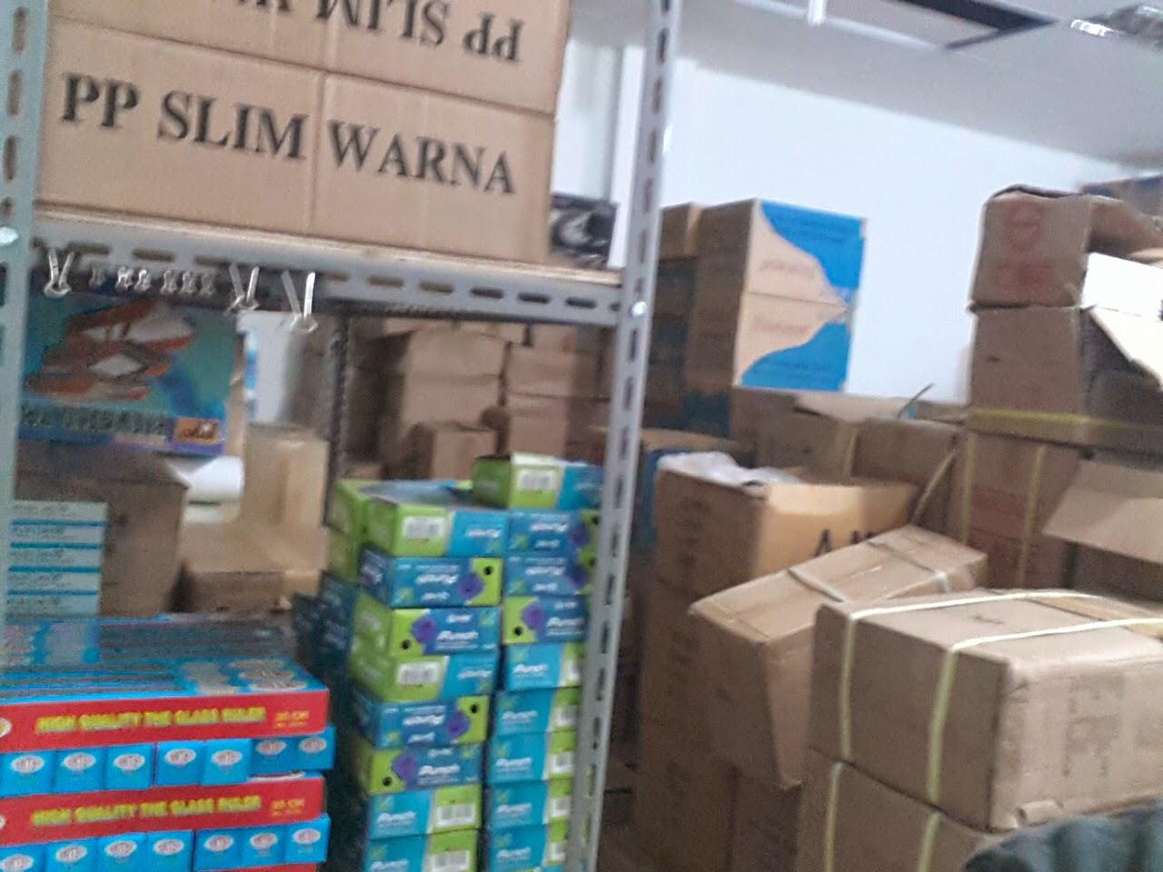 Persediaan Stok ATK merek Populer Bina Mandiri Stationery