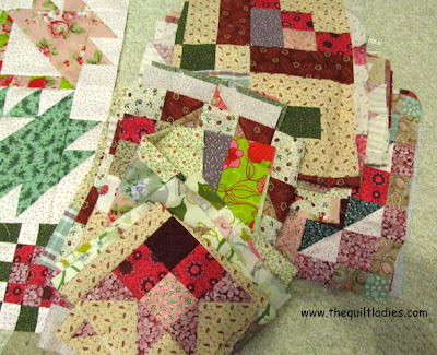 Tutorial how to put a quilt together