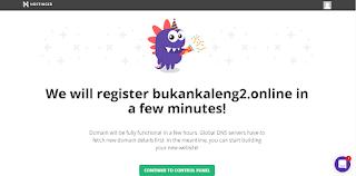 Sebelum nya saya pernah menciptakan artikel cara mendapat domain xyz gratis dari hostinger Cara Mendapatkan Domain Murah Dari Hostinger Rp 2500