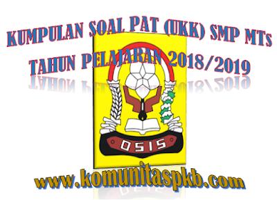 Soal UKK Prakarya Kelas 7 8 K13 Semester 2 Tahun 2019