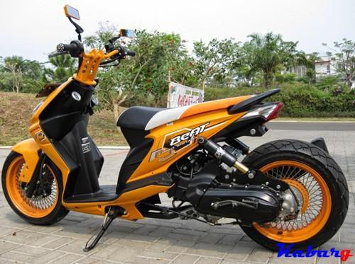 Kumpulan Gambar Modifikasi Motor Honda Beat Terbaru 2016