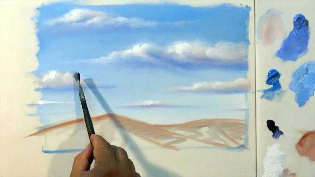 Pintura em tela : Passo a passo para iniciantes.