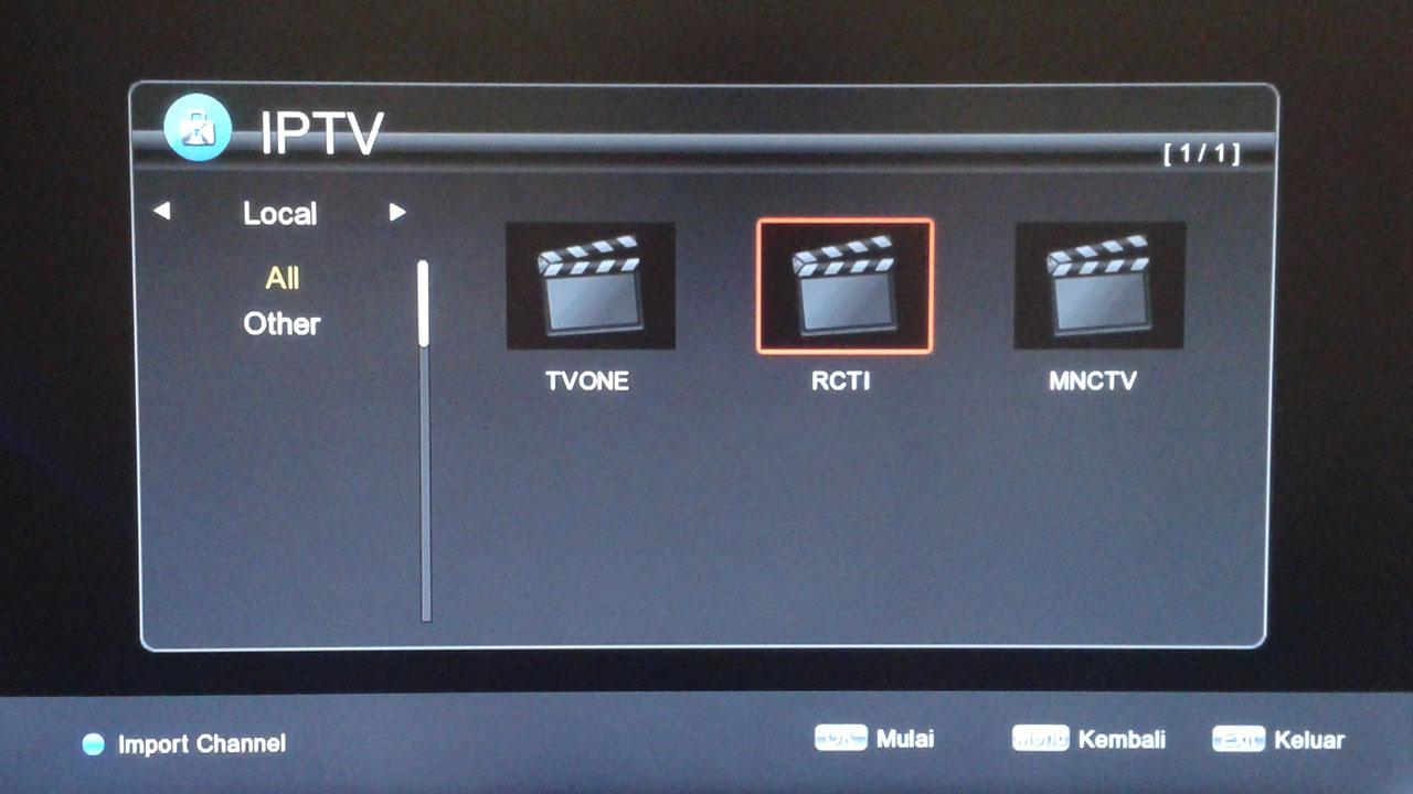 Cara Setting IPTV di Receiver Getmecom HD5 Guoxin