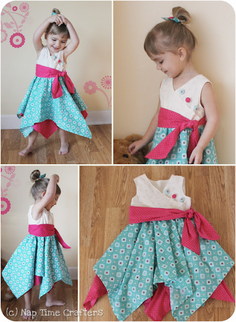 Free Girl's Dress Tutorial
